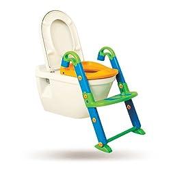 Dreambaby F600 Toiletten-Trainer Töpfchen Trainer Kinder-Toilettensitz Kinder-Toilette mit Leiter 3-in-1 mehrfärbig