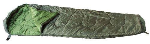 Mumien Camping Schlafsack 230*80cm in verschiedenen Farben (Oliv)