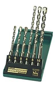 Mannesmann M54306 Profi SDS Lot de 6 forets
