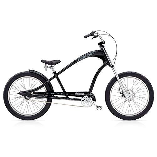 Electra Ghostrider 3i Cruiser Herren Fahrrad Stadt Cruiser Retro Ladies Aluminium Rad Bike, 531975 - Cruiser Aluminium Beach
