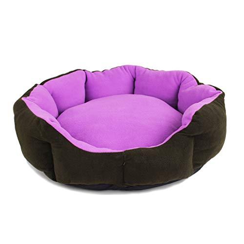 Liuyu · Casa de la Vida Nido de Mascota púrpura Four Seasons Universal Redondo extraíble y Lavable...