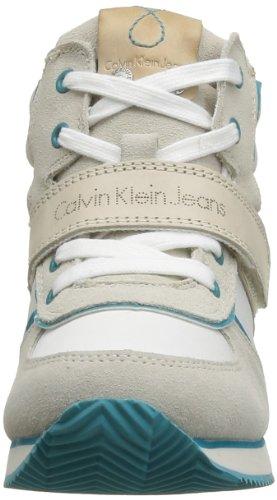 Calvin Klein Jeans VIRIDIANA SUEDE/NYLON/VACCHETTA/PATENT R8524 Damen Stiefel Mehrfarbig (WRQ)
