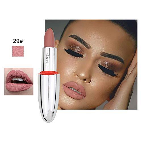 Pitashe Lippenstift 1pc Neue Mode Lipgloss Matt Wasserdicht Lippe Gloss Lipliner Long Lasting...
