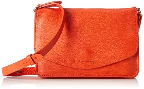 Clarks Damen Marva Wave Umhängetasche, (Orange Leather) (Clarks Wave Schuhe Damen)