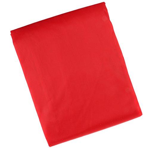Generic Abdeckplane für Billardtische für 9ft-Tische, Billard Club Tischschutz - Rot, 9ft / 2.8cm