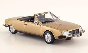 Citroen CX Orphee cabriolet, met.-beige, 1983, Model Car, Miniature déjà montée, Neo 1:43