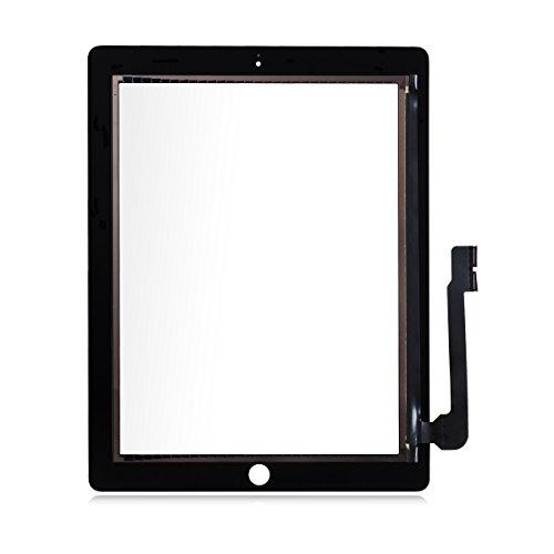 izer Touch Screen Front Glas Display für Apple iPad 3 + Gratis Werkzeug ()