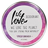 We Love The Planet: Deocreme Lovely Lavender (48 g)