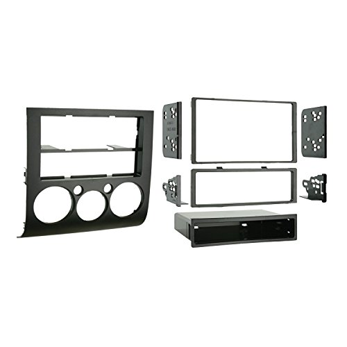 METRA 99–7012 Single/Double DIN Installation Kit - Iso-din Trim-ring