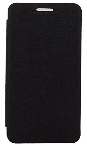 iCandy Soft TPU Non Slip Back Shell PU Leather Hybrid Flip Cover for Samsung Galaxy Note 3 Neo N7505 - BLACK  available at amazon for Rs.135