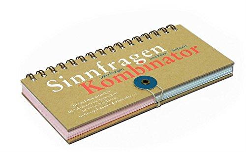 Preisvergleich Produktbild Der SinnfragenKombinator: 3969 Fragen und keine Antwort. Ein spielerisches Frageset von Pia Frey