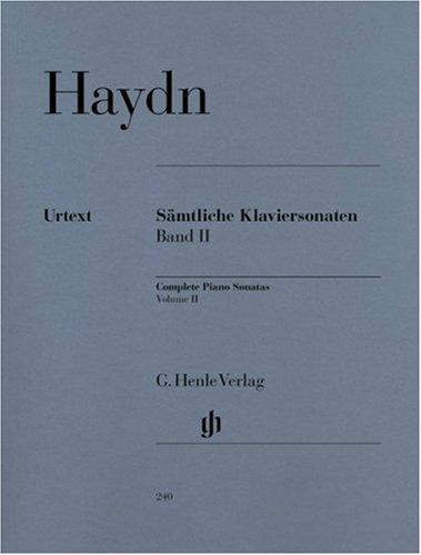 Complete Piano Sonatas   Vol. 2 - piano - (HN 240) par Joseph Haydn