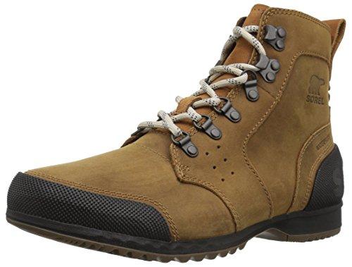 Sorel Herren Ankeny Mid Hiker Boots, braun (elk)/schwarz, Größe: 44 Mid Cut Hiker Boot
