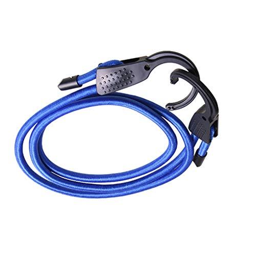 Einstellbare elastische Bungee Cords Koffergurte Seile Gurte Wäscheleinen mit Haken für Auto Mengonee -