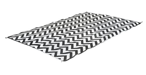 Bo Leisure Unisex BL Lounge Wave Chill Mat, schwarz/weiß, 7m