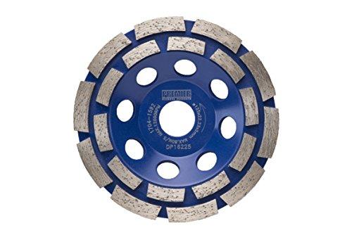 Premier Diamond dp16225p5-cg doble fila taza rueda
