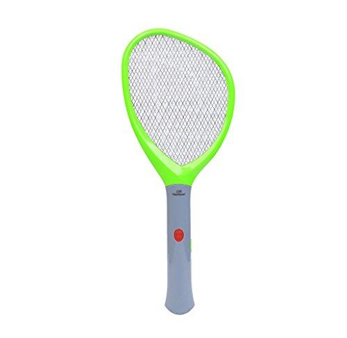 Elektrische Mücken-klatsche Batterien Fliegenklatsche Hochwertige Mosquito Fliege Zapper Fliegenfänger keine Giftstoffe Insektenvernichter Anwendung im Haus und draußen