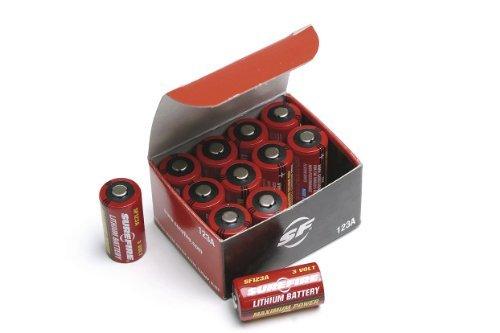 Surefire 12 Pack Boxed 123A Lithium Batteries, Model: SF12-BB, Gadget & Electronics Store Surefire Batterie