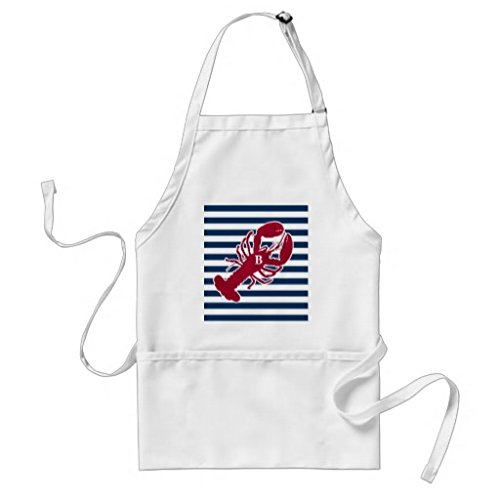 professional-chef-grembiuli-per-donne-nautical-red-lobster-monogram-grembiule-da-cucina-commerciale-