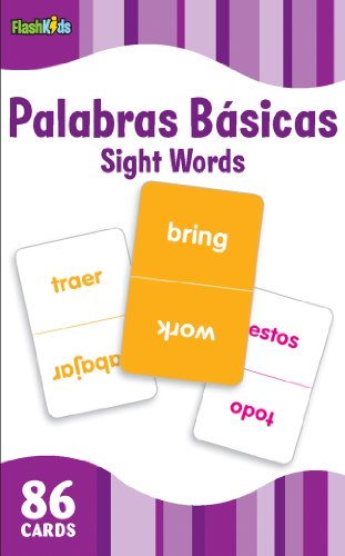 Palabras Basicas/Sight Words (Flash Kids Spanish Flash Cards) (Flash Kids Flash Cards)