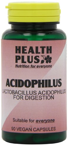 Health Plus Acidophilus Probiotic Digestive Health Supplement - 90 Capsules