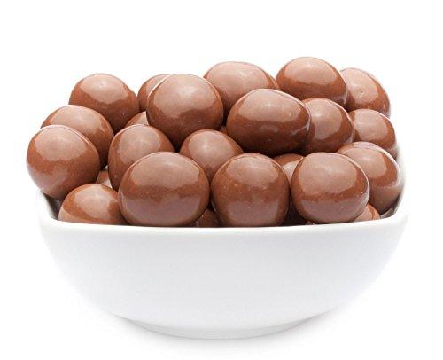 CrackersCompany Macadamia-Nüsse in Vollmilchschokolade - Leckerer Pausensnack und Partysnack - gesunde Nascherei aus besten Zutaten