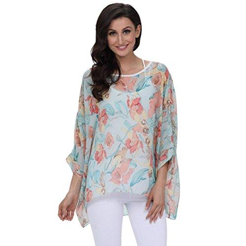 Top,SANFASHION Frauen Vorne Criss Cross V-Ausschnitt Solid ärmellose Unregelmäßige T-Shirt Bluse -