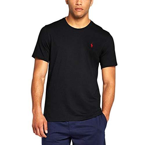 RALPH LAUREN T-Shirt HERREN TEE SHIRT CLASSIC FIT RLNM1000 m schwarz - Ralph Classic-fit Lauren Shirt,