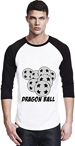 Seven Dragon Balls Unisexe Baseball Shirt Small