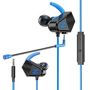 BENGOO V-13 Gaming-Ohrhörer mit Kabel für Gaming-Kopfhörer mit starkem Bass, hohe Klangqualität, 3,5 mm Mikrofonbuchse für PS4, X Box One, Nintendo Switch, Mac, Laptop, PC Geräuschunterdrückung
