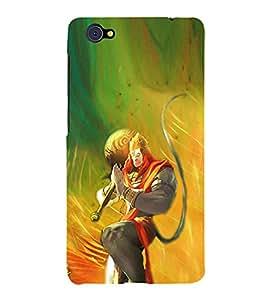 HiFi Designer Phone Back Case Cover Vivo X5Pro :: VivoX5Pro ( Jai Hunuman Body Build Strength God )