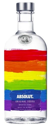 Absolut Rainbow Limited Edition Vodka 70cl
