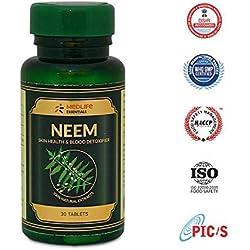 MEDLIFE Essentials Organic Neem Skin Glow 30 Tablets