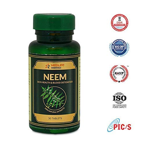 MEDLIFE Essentials Organic Neem Skin Glow 30 Tablets