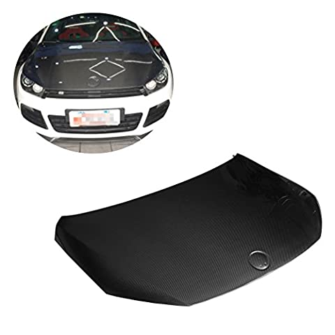 Hottes Moteur en fibre de carbone pour Volkswagen Scirocco R 09–14(compatible avec: Scirocco)