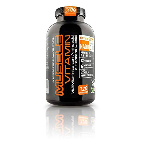 MUSCLE VITAMIN - Vitamine e Aminoacidi per la Crescita Muscolare - Net Integratori (1)