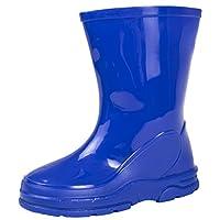 Lora Dora Boys Girls Mid Calf Wellington Rain Boots