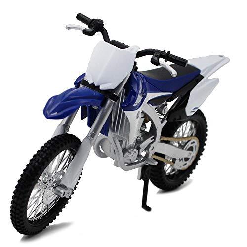 Penao Aleación de Motocross Yamaha YZ450F Modelo, Ornamentos del Coche Modelo, Escala: 12