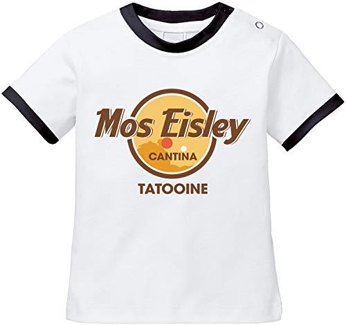 AngryShirts Mos Eisley Cantina T-Shirt Baby Bio Baumwolle (Luke Skywalker Baby-kostüm)