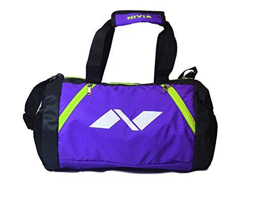 Nivia 8901194006750 Beast Gym Bag 2 Purple Black 675 - Best Price ... bac42d9595b3e