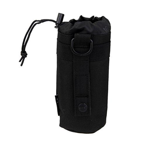 Taktische Molle Flaschentasche Flaschenhuelle Bag Tasche Schwarz