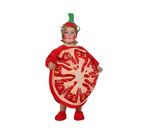 Atosa- Disfraz Tomate, Multicolor, 0 a 6 Meses (10427)