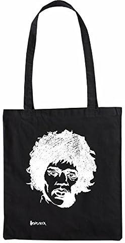 Mister Merchandise Tote Bag Jimi Hendrix Jimy Shopper Shopping , Color: Schwarz