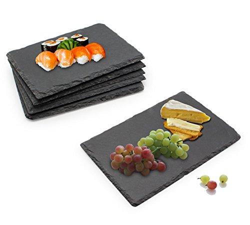 Mini set di cibo in ardesia per sushi