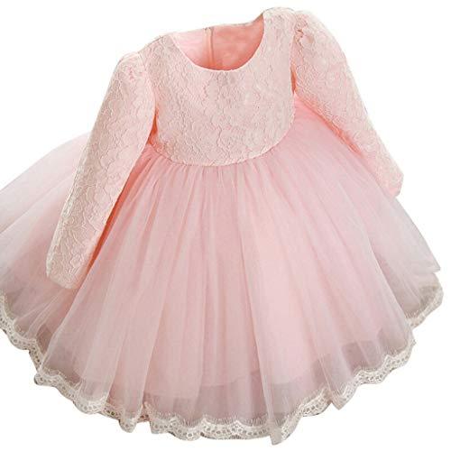 Fiore Ragazze Abito Principessa Moda Vestito da Cerimonia per La Damigella  Matrimonio Bowknot Elegante Bimba Comunione 4b99ed5c781