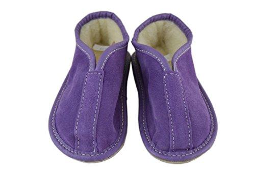 Natleat Slippers , Chaussons pour garçon Violet