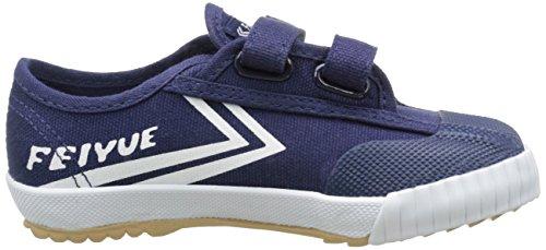 Feiyue Unisex-Kinder Fe Lo Classic Ec Sneaker Blau - Bleu (Navy/White/Gum)