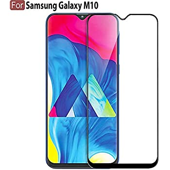 Plus Tempered Glass Edge to Edge Full Coverage for Samsung Galaxy M10 - Black