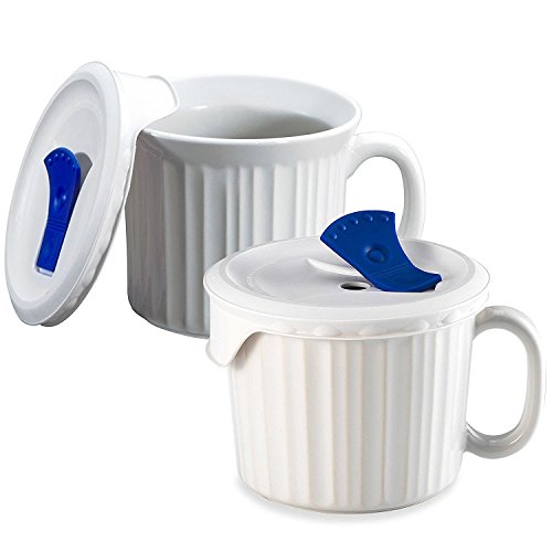 Corningware Country Cottage Pop-591 - Tasse 2-Pack French White French White Pop