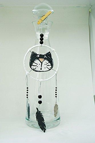 attrape-reves-chat-noir-avec-plumes-attrape-reves-blanc-et-noir-attrape-reves-en-bois-et-perles